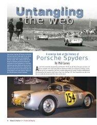 Porsche Spyders - Stasher.us