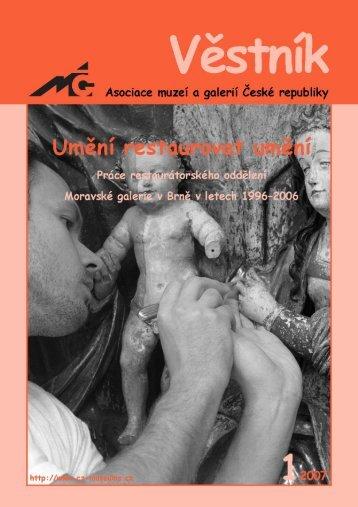 Věstník AMG 12007 - Asociace muzeí a galerií České republiky