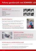 Svět pohonů SOMMER pohony garážových vrat (formát .pdf) - Trido - Page 2