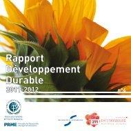 Rapport Développement Durable - EM Strasbourg Business School