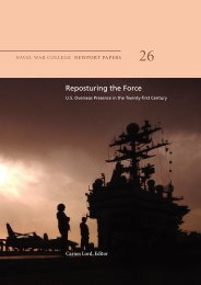 Reposturing the Force: U.S. Overseas Presence in the Twenty-first ...