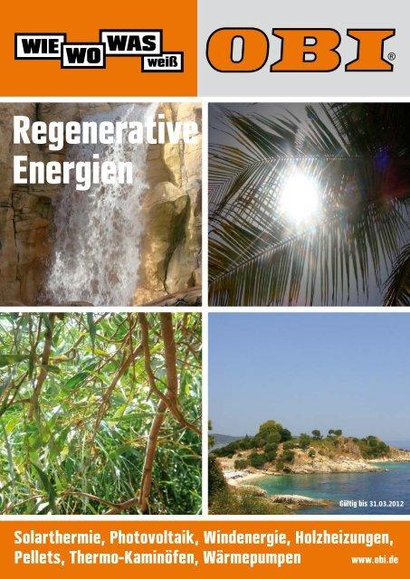 Regenerative Energien - Obi