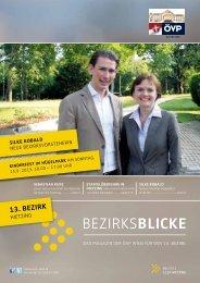Aktuelle Bezirksblicke - ÖVP Wien