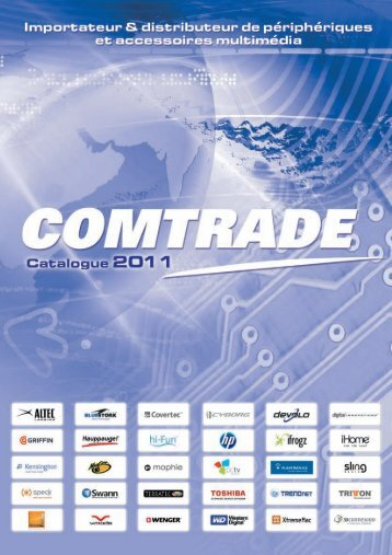 Catalogue 2011 (pdf) - Comtrade