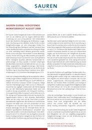 sauren global hedgefonds monatsbericht august ... - Hedgeconcept.de