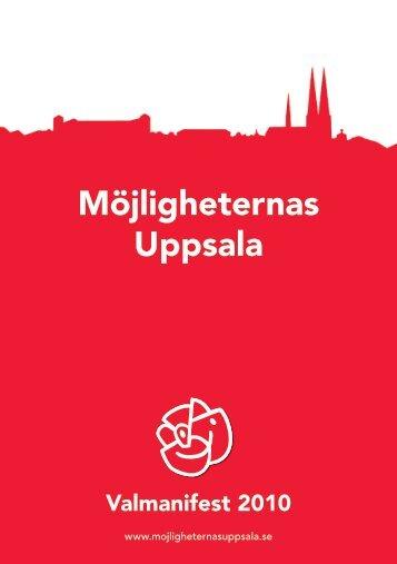 Möjligheternas Uppsala - Socialdemokraterna