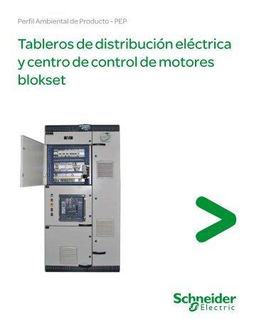 Perfil Ambiental Tableros de Distribución ... - Schneider Electric