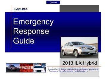 honda emergency response guide electric vehicle safety training rh yumpu com ford hybrid emergency response guide Crisis Response Guide