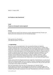 Baden, 4. August 2003 Der Stadtrat an den Einwohnerrat 52/03 ...