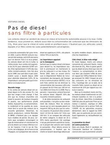 Filtre à particule - admin.ch