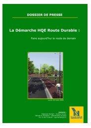 La Démarche HQE Route Durable : - Réseau Aquitaine Déchets