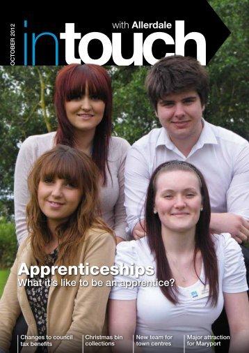 Apprenticeships - Allerdale Borough Council