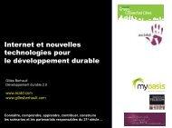 Internet et développement durable - Ecobase 21