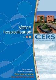 Guide info patient CERS - Générale de Santé