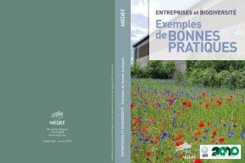 Entreprises et biodiversité : exemple de bonnes pratiques