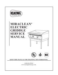 Miraclean Griddle (Electric) – Pre-2000 Series