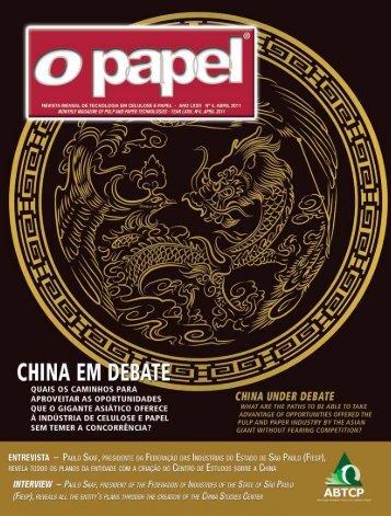 Clique aqui e confira a edição completa de abril ... - Revista O Papel