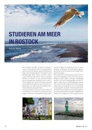Studieren am Meer in Rostock - zahniportal.de