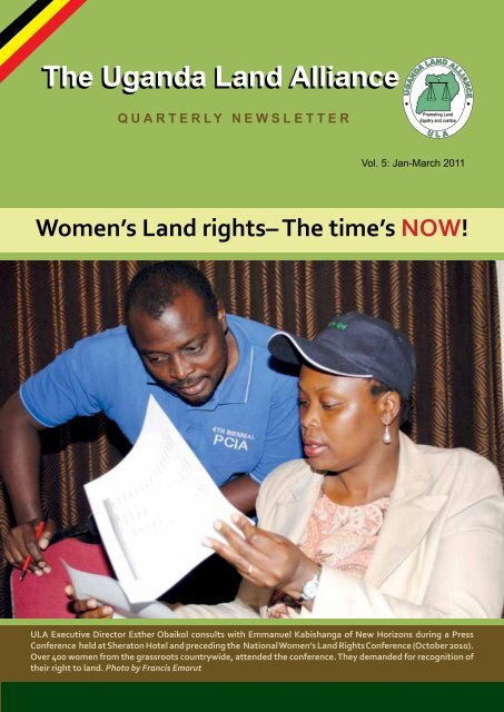 Women's Land Rights-the time is now! - Uganda Land Alliance