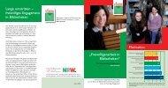 Flyer - Verband der Bibliotheken des Landes Nordrhein-Westfalen e.V.