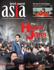 August 2009 - Development Asia