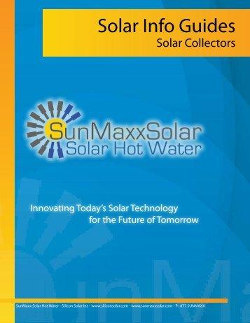 Solar Collector - SunMaxx Solar