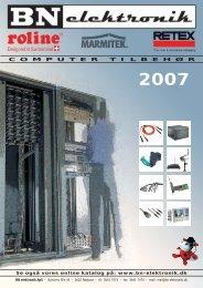 BN elektronik katalog 2006 - BN elektronik ApS