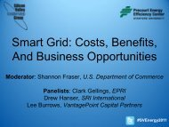 The Smart Grid - Silicon Valley Leadership Group