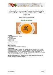 Menü von Gabriele Freifrau Spiegel von und zu Peckelsheim -205