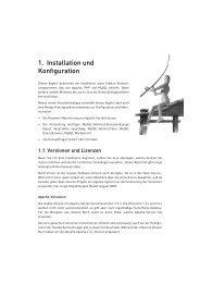 1. Installation und Konfiguration - Michael Kofler
