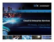 Cloud & Enterprise Services Cloud & Enterprise Services