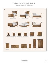 ST. JAMES BEDROOM COLLECTION - Restoration Hardware