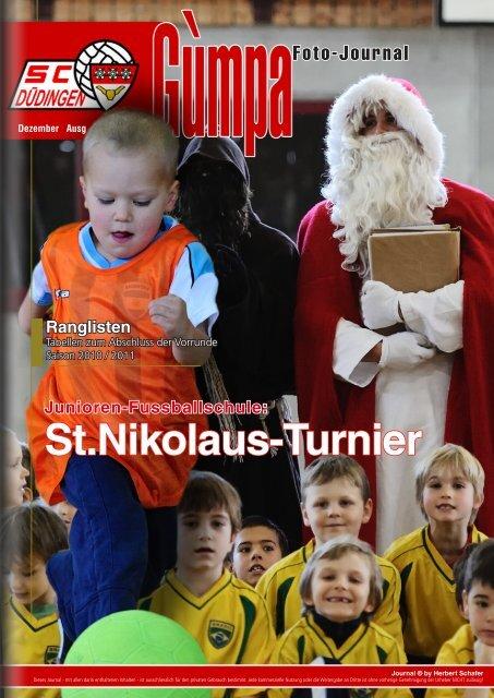 St.Nikolaus-Turnier Junioren-Fussballschule