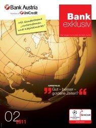 Bank exklusiv 2/2011