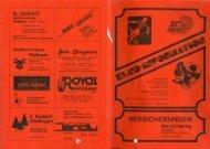 Nr.31 August 1992 - SC Düdingen