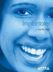 Implantater - Astra Tech