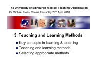 Vilnius 3 - Teaching and Learning Methods - ECTS