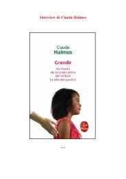 Interview de Claude Halmos - Le Livre de Poche