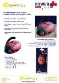LAMPE DE POCHE DYNAMO 2 LEDs LADYBUG - Eqwergy - Page 2