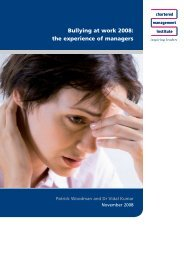 Bullying at work 2008 - Management & Business Studies Portal from ...