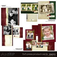 5x5 press product cards - photoDUDS