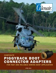 Composite Piggyback Boot Connector Adapters - Glenair, Inc.