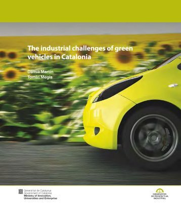 The industrial challenges of green vehicles in Catalonia