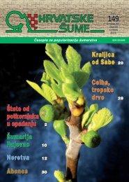 Unikatni namještaj (od abonosa) star 6000 godina! - Hrvatske šume