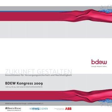 BDEW Kongress 2009 - TAM
