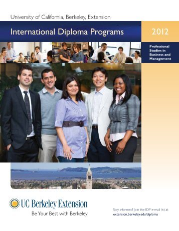 University of California, Berkeley, Extension - ALBA Graduate ...