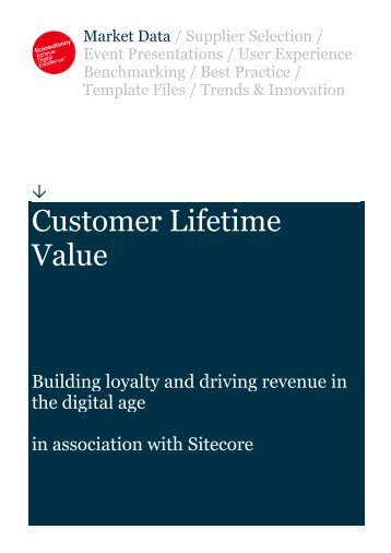 Econsultancy-Customer-Lifetime-Value-Report FINAL