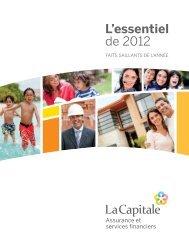 L'essentiel de 2012 - La Capitale assurances générales