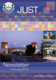 JUST Newsletter February Issue