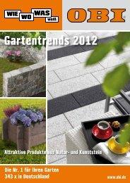 Gartentrends 2012 Gartentrends 2012 - Obi